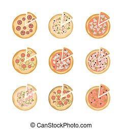 set., gostoso, pizza