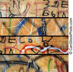 set., grunge, bandeiras, abstratos