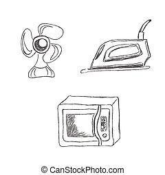 set household appliances