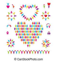 set-icon-love-people