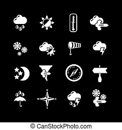 Set icons of weather