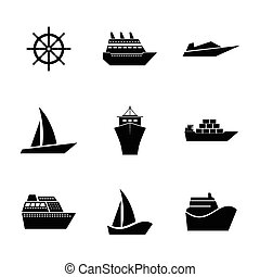 Set Icons ships.