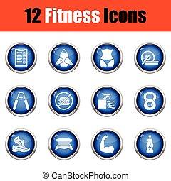 set., ikone, fitness