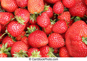 a box of strawberries