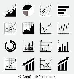 Set infographic. Icons.
