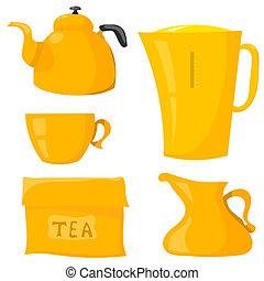 Set Items for tea