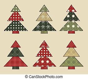 set, kerstboom, 5