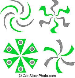set, logos., ditta