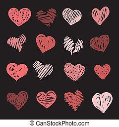 set., love., hjärta
