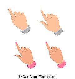 set., mão