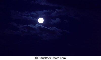 set, maan
