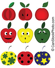 set., manzanas