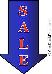 set, markeringen, verkoop, illustratie, vrijstaand, vector, achtergrond, witte
