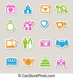 set., matrimonio, icone