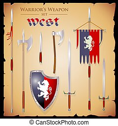 set meele weapon to fantasy style