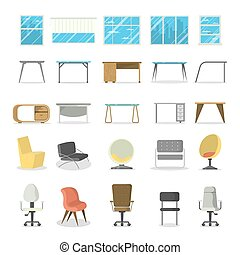 set., meubles bureau