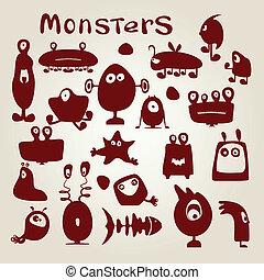 set, monsters