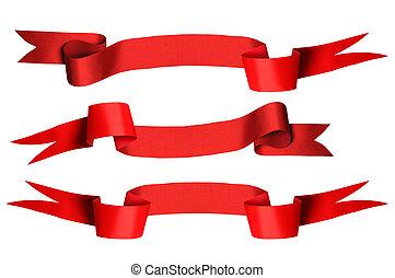 set, nastro rosso