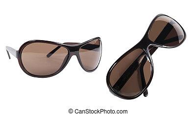 set, occhiali, isolato