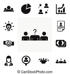 Set Of 12 Editable Trade Icons. Includes Symbols Such As...