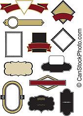 Set of 12 Logo Design Vectors