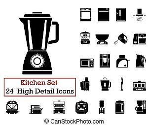 24 Kitchen Icons