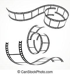 set of 3d film strips
