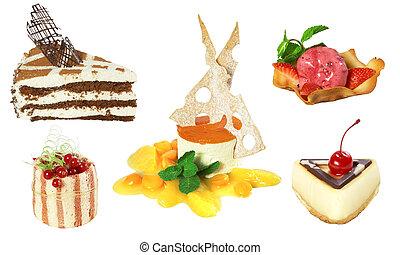 Set of 5 cakes