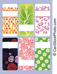 colorful summer cards
