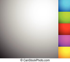 Set of 6 shaded, illuminated backgrounds, backdrops in ...