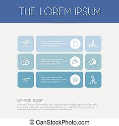 Set Of 9 Editable Hygiene Outline Icons. Includes Symbols...