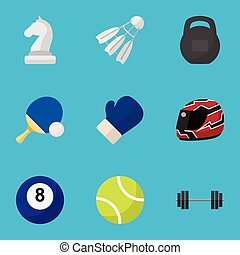 Set Of 9 Editable Lifestyle Icons. Includes Symbols Such As...