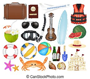 set of a real sea travel object