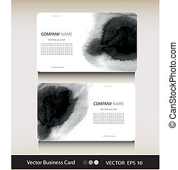 Set of abstract business card with place for your text
