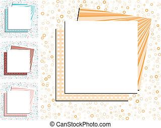 Set of abstract colorful backgrounds, part 28, vector illustration