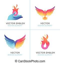 Set of abstract concepts - Set of abstract concepts, logo...
