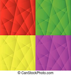 Set of Abstract Geometric Backgrounds.