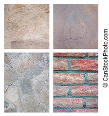 Set of Abstract Stone Background