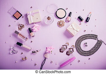 Set of accessories and cosmetics available for sale on Black Friday