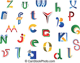 Set of alphabet symbols