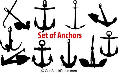 set of anchors