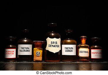 Set Of Ancient Medicines