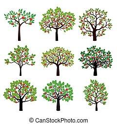 Set of Apple Trees.