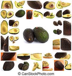 Set Of Avocado