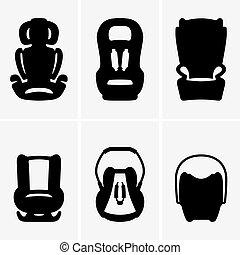 Baby car seats - Set of Baby car seats