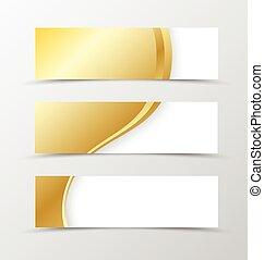 Set of banner design.