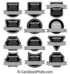 Set Of Banners Vector Illustration