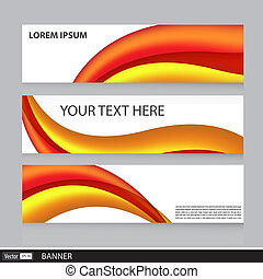 Set of Banners. Vector Illustration.