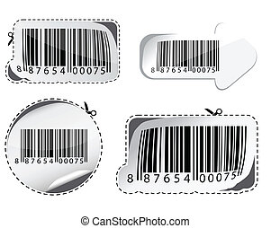 Set of barcodes. - Vector collection of stylized barcodes.