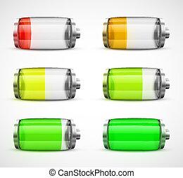 Set of batteries
